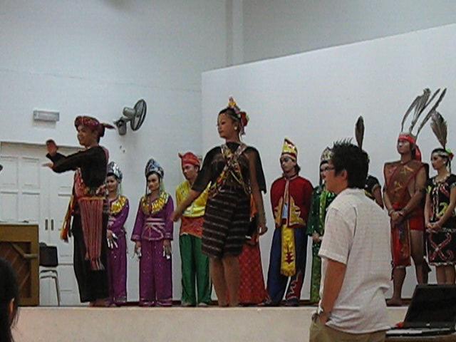 Rungus dance from Kudat