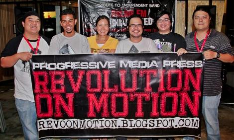 Revolution On Motion, Bro Langau at On9fm Mini Jam