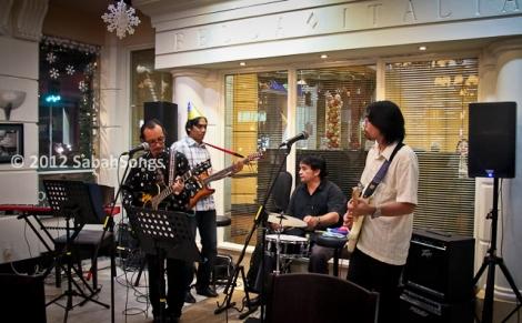 Momain Blues, Bella restaurant, Jesselton Hotel, Gaya Street, Kota Kinabalu