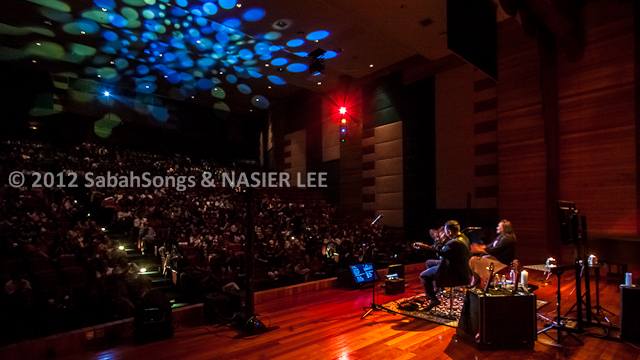 Double Take - Roger Wang and Mia Palencia - in Kota Kinabalu, Sabah Theological Seminary Auditorium